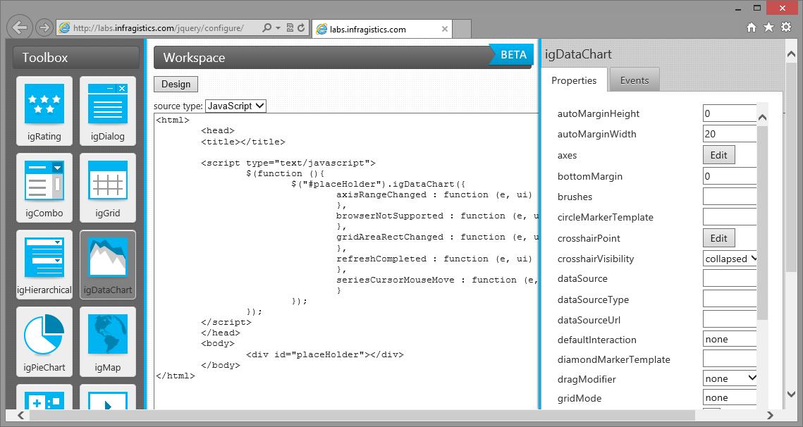 Data grid component javascript/html5 & jquery | ignite ui.
