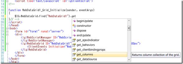 WebScriptManager IntelliSense