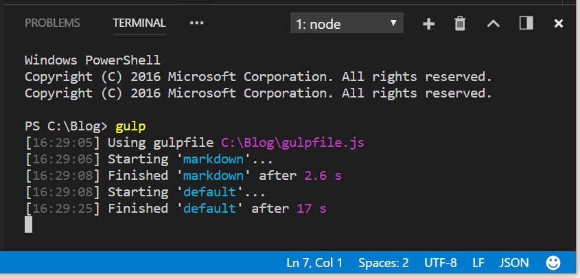 Using VS Code and Node to Write HTML with Style (Baked-in